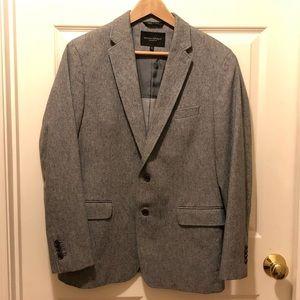 Men's Banana Republic 40S Grey Twill blazer